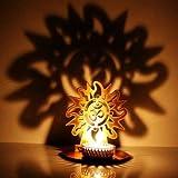 M.G.R.J Surya OM Ji Shadow Lamps tealigh...