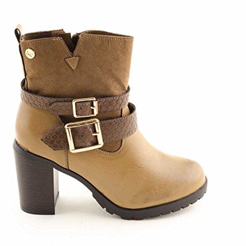 Xti Botin Lady Taupe. Chaussures pour femmes 9b38e614827