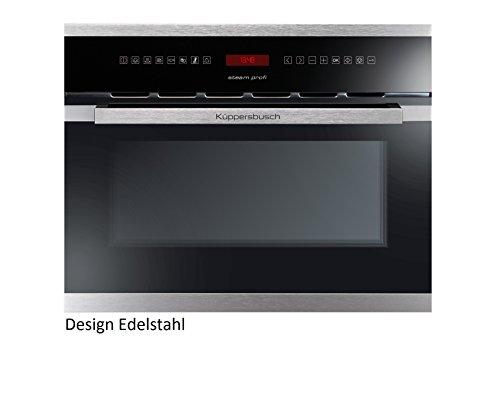Küppersbusch Einbau-Dampfgarer EDG6550.0, 45 x 56 cm, Design:schwarz + Edelstahl