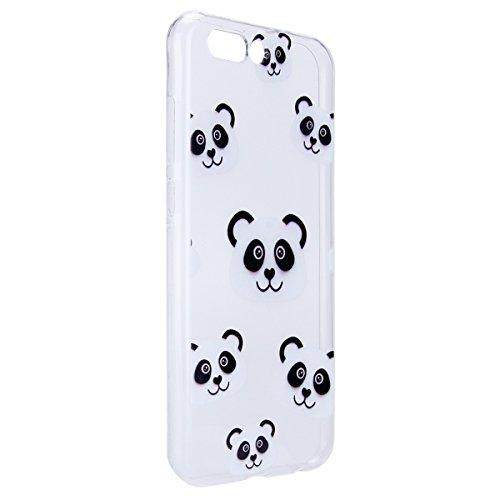 Custodia Zenfone 4 ZE554KL, Zenfone 4 ZE554KL Cover Sottile Silicone, SainCat Cover per Asus Zenfone 4 ZE554KL Custodia Silicone Morbido, Shock-Absorption Ultra Slim Transparent Silicone Case Ultra So Panda