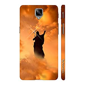 Enthopia Designer Hardshell Case Jesus Loves You Too Back Cover for One Plus 3, One Plus 3T