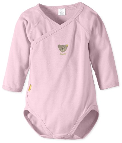 Steiff - Baby Body 0008503 1/1 Arm, Einfarbig, Gr. 74, Rosa (Barely Pink)