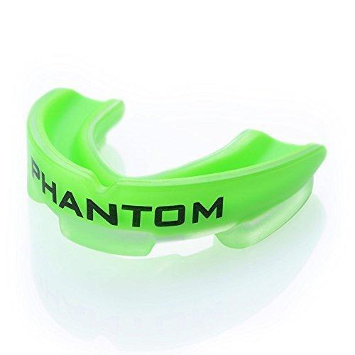 """Phantom Athletics Zahnschutz """"Impact"""" - Neongrün mit Box - Mund und Zahnschutz - Mouthguard,Zahnschützer"""
