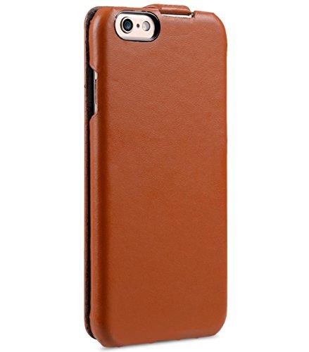 Melkco Jacka type Étui en cuir véritable fait main, bonne protection, slim, toucher Premium, Cuir, Traditional Vintage Brown, Apple Iphone 6S Plus/6 Plus