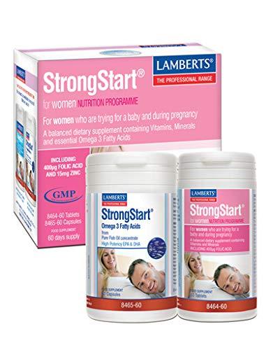 StrongStart® para Mujeres un Multivitamínico completo más Omega 3 60 +60
