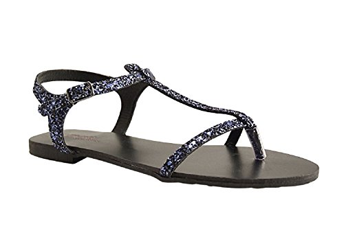 Reqins, Damen Sneaker Blau