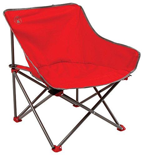 Coleman Kickback Chair Silla Plegable, Kick-Back, Rojo, Talla única