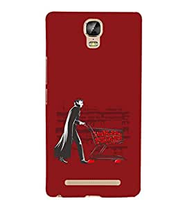 EPICCASE Vampire Shopping Mobile Back Case Cover For Gionee Marathon M5 Plus (Designer Case)