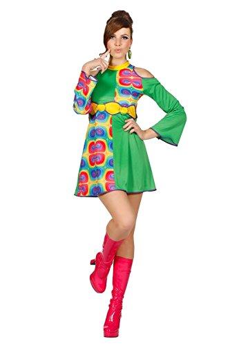 Hippie Kostüm Damen Flower Power 70er 60er Jahre