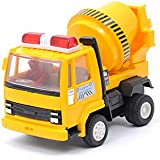 Centy Toys Pull Back Concrete Mixer (Yellow)
