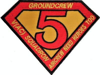 1000 Flags Keine. V (5) (AC) Squadron RAF herausstellen Sentinel groundcrew Helden bestickt Patch -