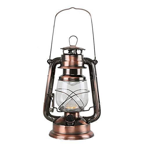 TQBT Nachtlicht Nachtlicht Retro Laternen Tragbare Lichter Dimmen Tischlampe Ladeeinstellung Led-Leuchten Notbeleuchtung Antike Petroleumlampe -