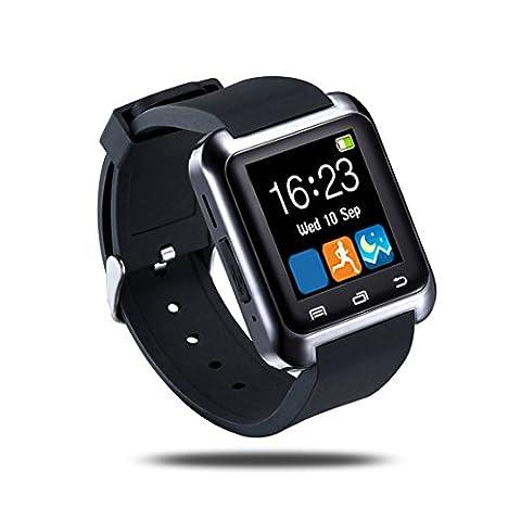 U8 Wasserdichte OLED Touch Screen Fitness Fitness Tracker Pedometer für IOS und Android Schwarz