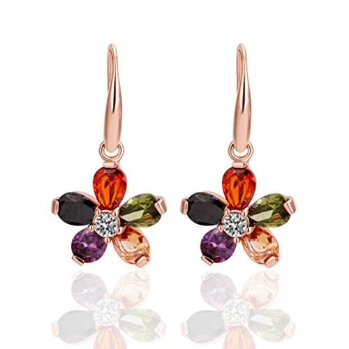 yc-top-lovely-flowers-18k-rose-gold-plated-colorful-cubic-zirconia-lady-dangle-earrings