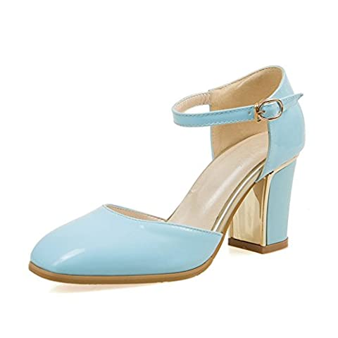 Hollywood Usa Costumes - Adee Femme Square-Toe ankle-cuff polyuréthane Sandales -
