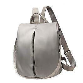 Donna Zaini, Nylon Borsa Casual Zaino Impermeabile Leggero Cartella Fashion Daypack Zainetti Borsetta Backpack Per Ragazze Signore – 30 * 28 * 15 cm