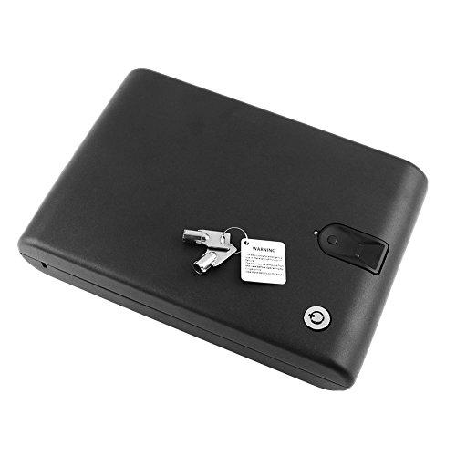 Hanbaili Schmuck und Wertsachen biometrisch tragbare biologische Schmuck und Wertgegenstände Safe und Safe