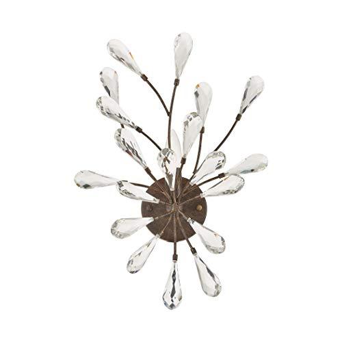 1 Vanity Wandleuchte (Crislett 1-Light Vanity Light in Sunglow Bronze with Clear Crystal)