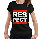 Aretha Franklin Respect Run DMC Mix Women's T-Shirt
