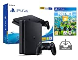 PS4 Slim 1TB schwarz Playstation 4 Pack + Fortnite: Battle Royale Vorinstalliert
