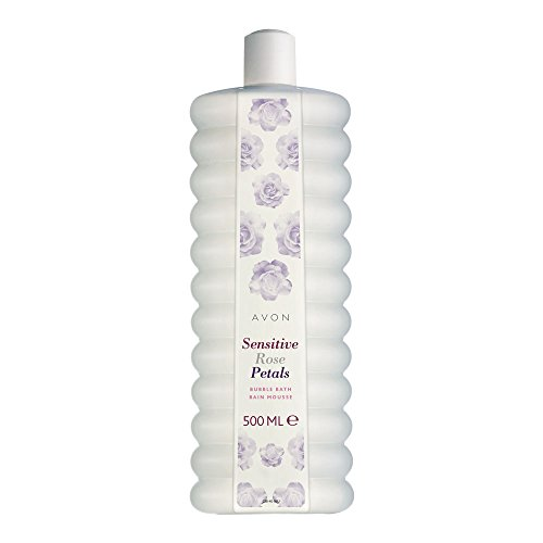 Avon Schaumbad 500ml Sensitive Rose Petals -