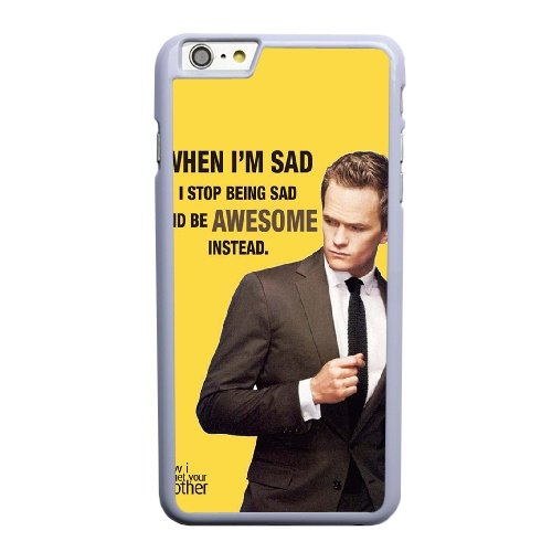 Coque,Apple Coque iphone 6 6S plus (5.5 pouce) Case Coque, Generic Quotes From How I Met Your Mother Cover Case Cover for Coque iphone 6 6S plus (5.5 pouce) blanc Hard Plastic Phone Case Cover, coques iphone
