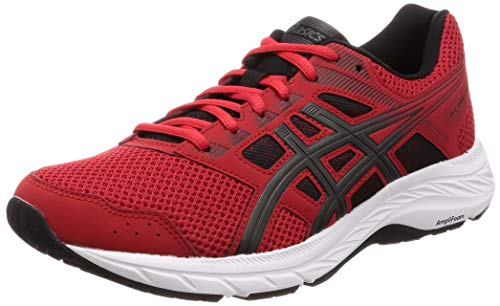 Asics Gel-Contend 5, Zapatillas de Running para Hombre, Rojo (Classic Red/Dark Grey 600), 45 EU