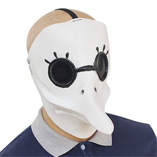 Steampunk Domineering Pest Bird Mouth Doctor Maske Halloween Dekoration Kostüm Maske Cosplay Volle Kopfmaske ()