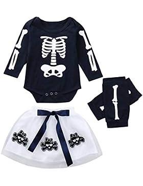 K-youth Ropa Bebe Nina Recien Nacido Otoño Invierno Halloween Infantil Body Bebe Niña Conjunto Bebé Mono Mameluco...