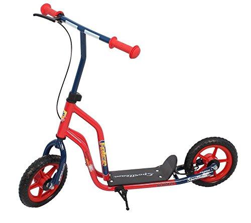 "SportTeam Kinder Falco Scooter Roller, Rot/Blau, 10\""/10\"""