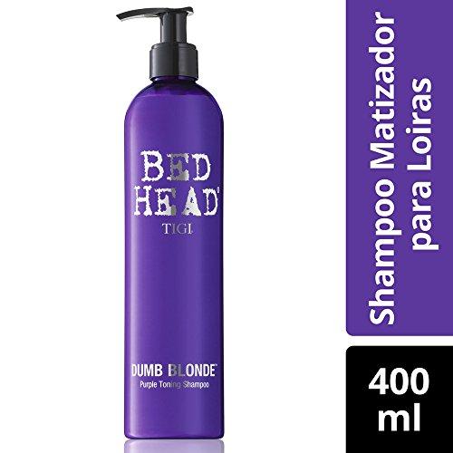 Tigi Bed Head Dumb Blonde Shampoo 400ml Tonique Violet