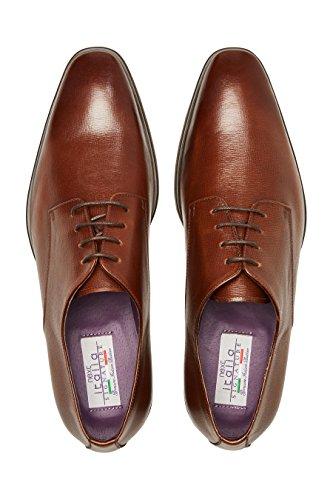 next Chaussures Derby Signature Texturées Coupe Regular Tan