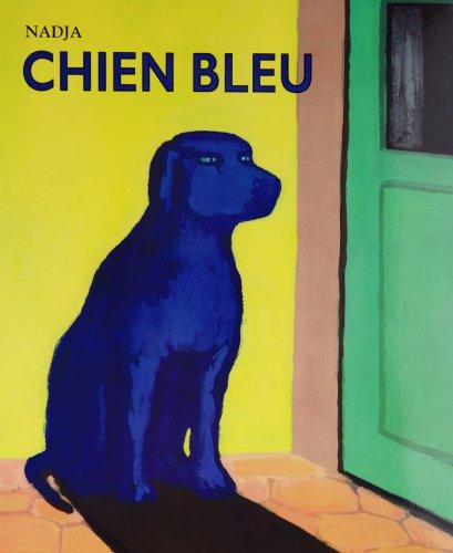 Chien bleu par Nadja