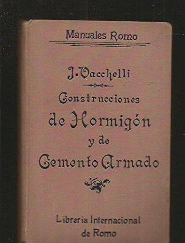 CONSTRUCCIONES DE HORMIGON Y DE CEMENTO ARMADO