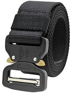 Molle Tactical CQB Rigger Cinturon Ajustable Correas Rappel Batalla Equipo Militar Pesado Banda Web Nailon 15