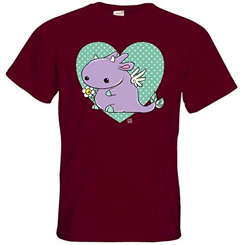getshirts - Crapwaer - T-Shirt - Lin-Ling Burgundy