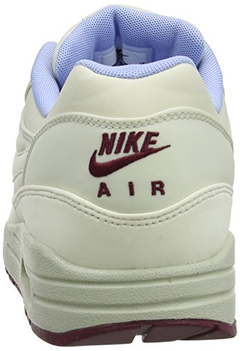 Nike Air Max 1 Fb, Herren Laufschuhe Training Weiß (Light Bone/Light Bone-Psn Grn 003)