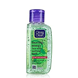 Clean & Clear Morning Energy Apple Face Wash, 50ml Pack Of 3