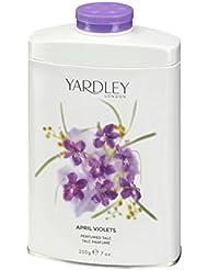 Yardley London April Violets Perfumed Talc
