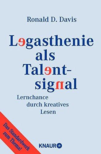 Preisvergleich Produktbild Legasthenie als Talentsignal: Lernchance durch kreatives Lesen