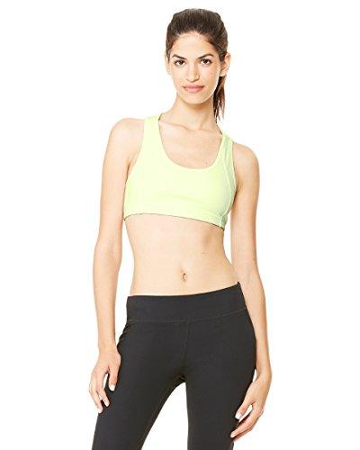 Alo Sport pour équipe 365Soutien-gorge de sport pour femme Sport Safety Yellow
