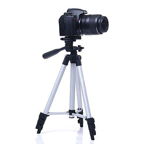 Trípode superligero con bolsa de transporte para cámaras digitales y videocámaras, de...