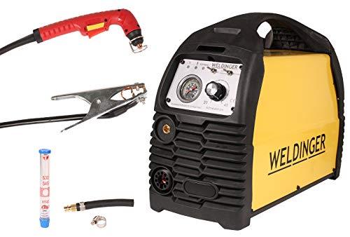 WELDINGER Plasmaschneider PS 55 pilot pro mit Pilotlichtbogen und Druckregler