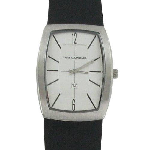 Ted Lapidus 5128402 - Reloj de pulsera hombre, piel, color negro