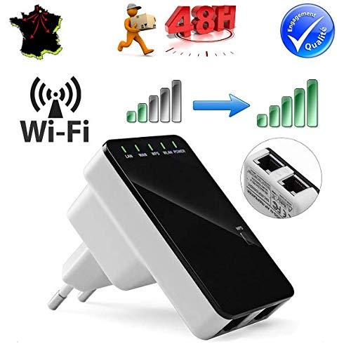 SIMPLISIM: Verstärker, WiFi, Erweiterung, Booster, kabellos, Netzwerk, 300 Mbps, AP Router