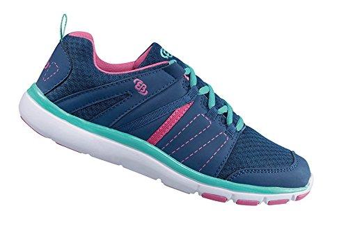 Brütting , Chaussures de course pour fille marine/pink/türkis