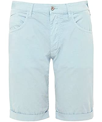 Armani Jeans Men's Cotton Bermuda Shorts Blue