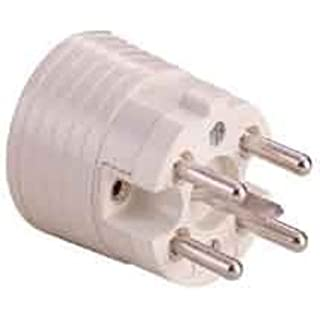 ABL Sursum 22011103P + N + and white electrical power plug-Electrical Power Plugs (230-400, 16A)