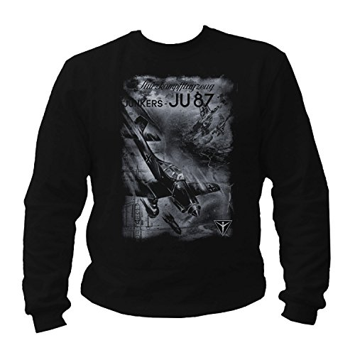 STUKA JU87 - Sweatshirt (XL) (Tee Flugzeug T-shirt)