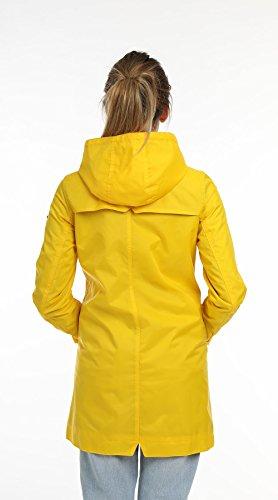 Beseason - AW17 - Raincoat - Parka - Waterproof - Manteau imperméable - Femme YELLOW WAX